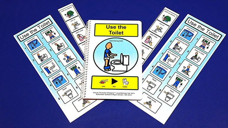 Boys' Potty Training Kit for Autism  PCS Visual Aid for image 0