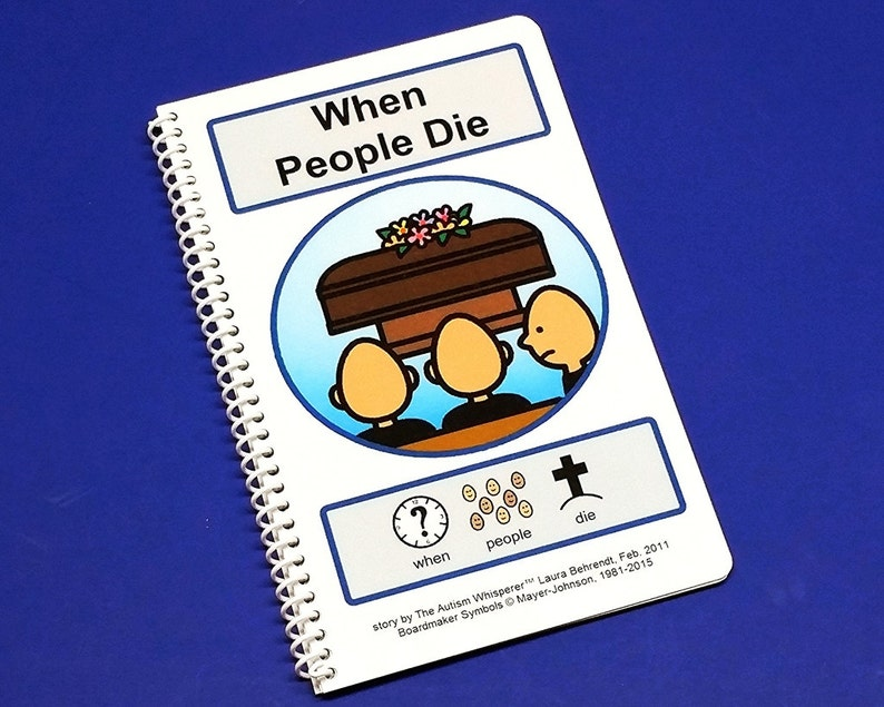 When People Die  PCS Communication Book ABA Therapy  Autism image 0