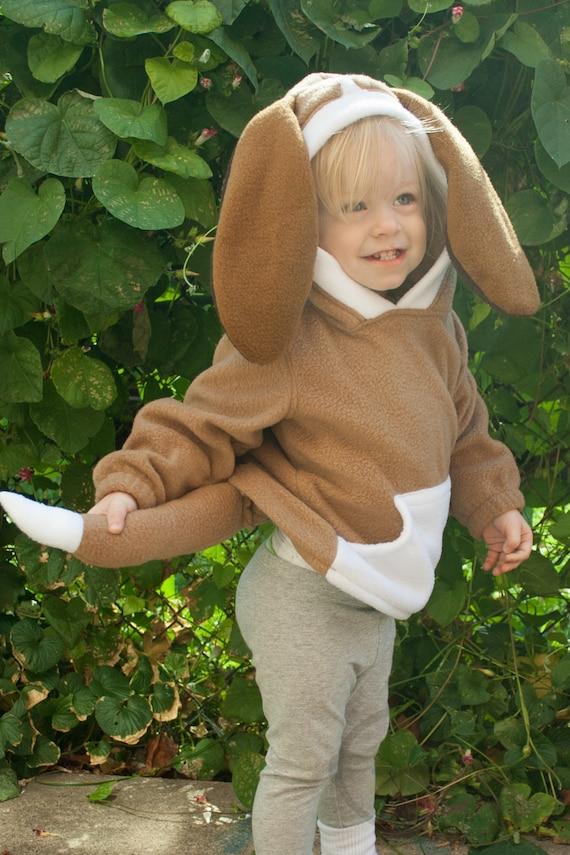 BABY & TODDLER Hound Dog Puppy Hoodie Costume Vest Jacket | Etsy