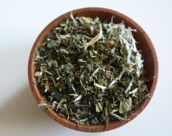 Allergy Tea Blend- ease allergies, herbal tea, Loose tea, organic, wild harvested, iced tea, immunity, foraged, healing tea, healthy tea