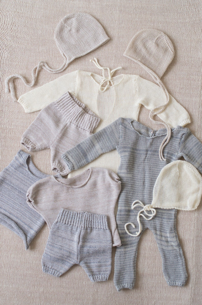 baby outfit Baby boy set newborn photography soft newborn props newborn outfit stretchy requisite photo shoot