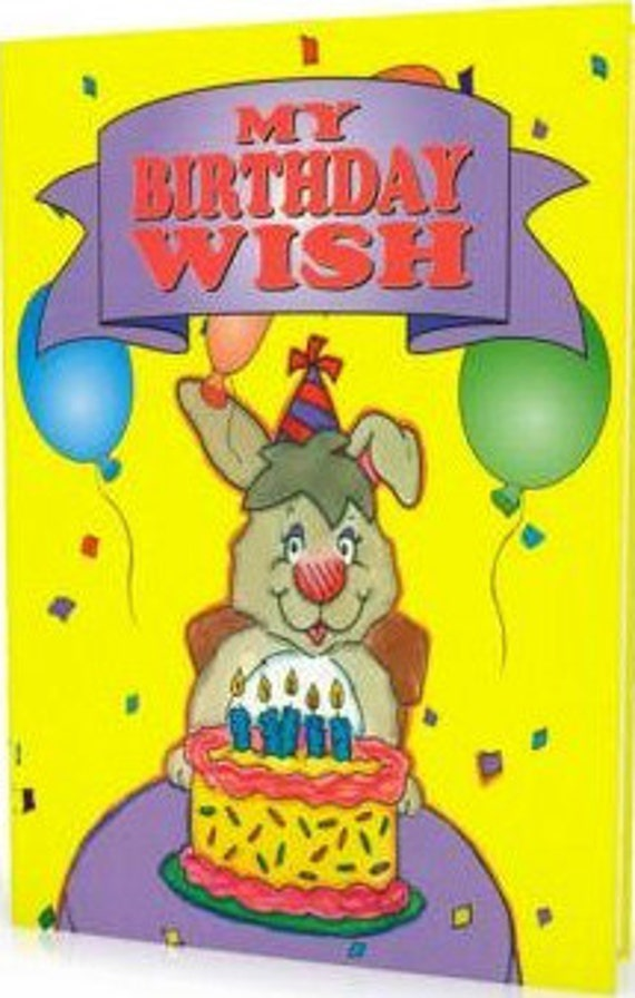 Childrens Personalized Books My Birthday Wish Etsy