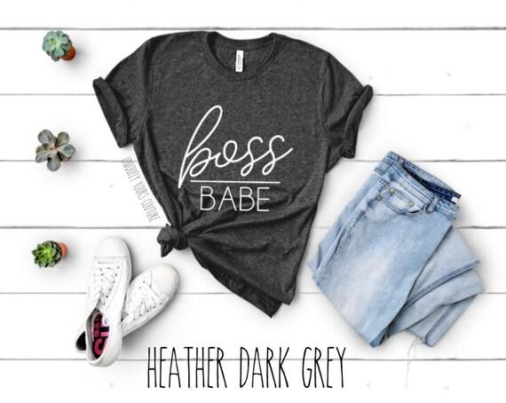 Boss Babe Womens Tee Shirt Unisex