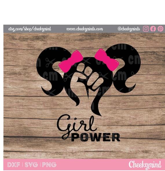 PNG Girl Boss Girl Power SVG DXF Girl Power Clipart Girl Power Girl Power Logo