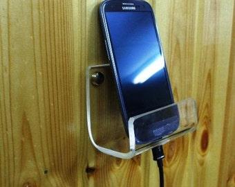 Universal Smartphone Wall Installation Holder Stand Display