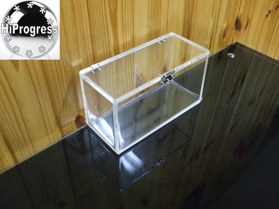 Clear 6 Mm Thk Acrylic Box With Hinged Lid Different Sizes Etsy