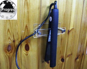 Adhesive Tape Wall Installation Holder Mount Bracket Stand Display for Bathroom Hair Straightener
