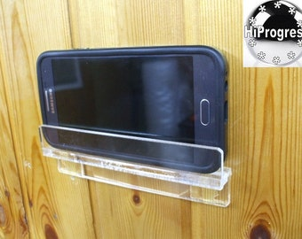 Universal Smartphone Wall Holder Stand for Bathroom or Restroom