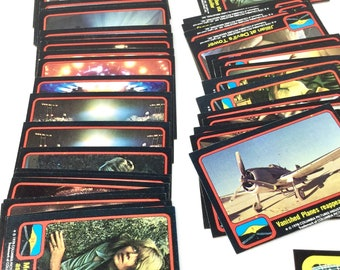 Vintage lot of 70s Close Encounters trading cards stickers