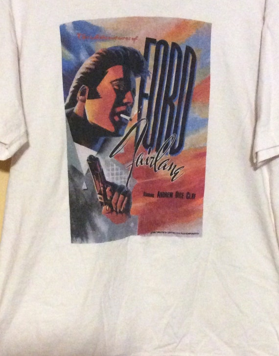 Vintage 80s Andrew Dice Clay Ford Fairlane t shirt