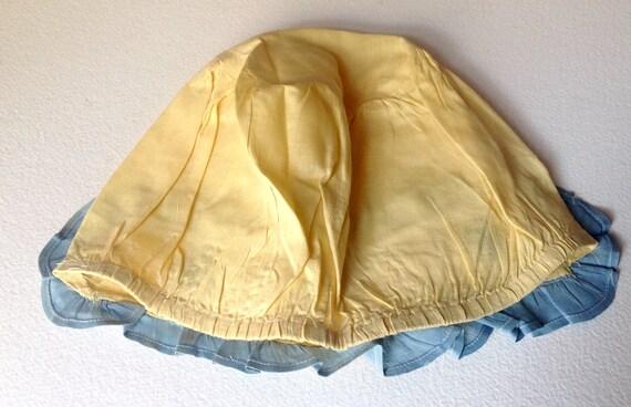 Vintage Victorian Deco era cloth Bonnet handmade … - image 3
