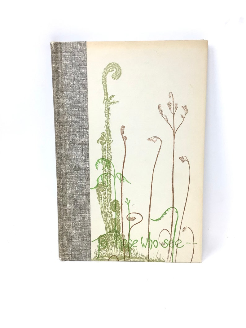 To Those Who Know book by Gwen Frostic art poetry nature image 0