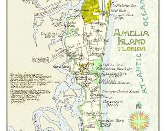 Amelia island | Etsy
