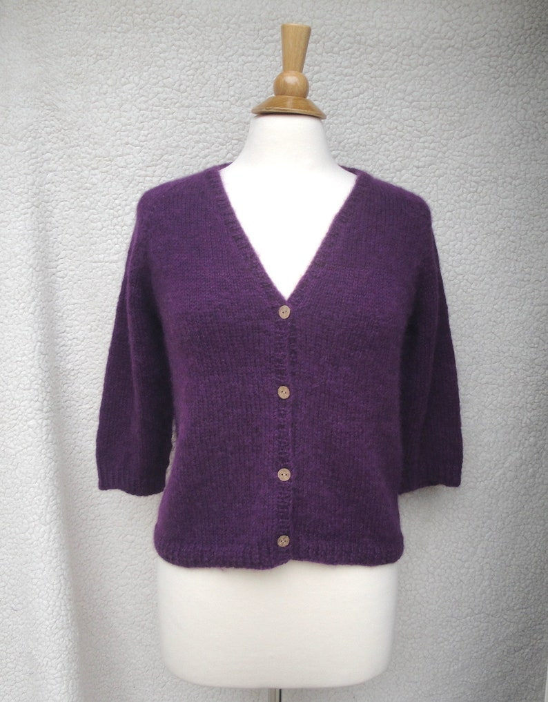 3e7866b4346c Purple Cardigan Sweater