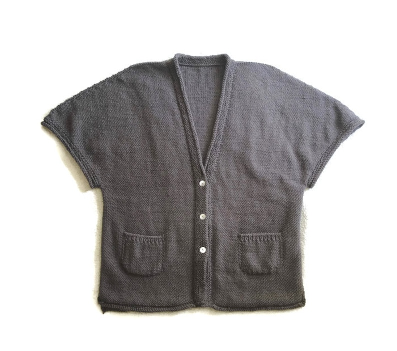 d12e78c7e392 Cocoon Cardigan Sweater Womens size M Slouchy Shrug