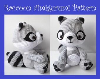 Raccoon Amigurumi Pattern