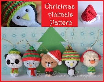 Christmas Animals Amigurumi Pattern