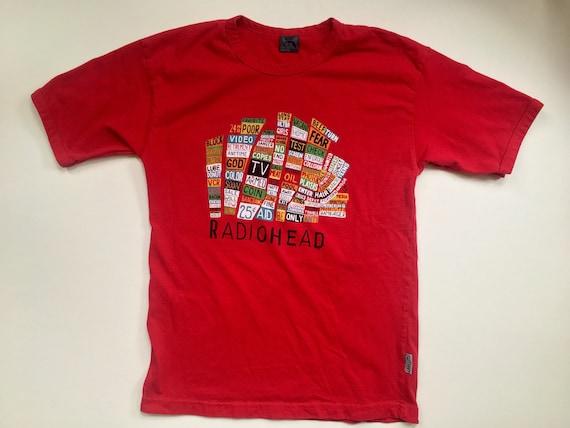 Vintage Radiohead Hail to the Thief T-shirt W.A.S.