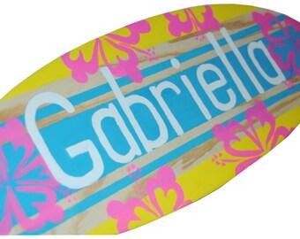 Surf Decor, Surfboard Wall Decor, Surf Board Art