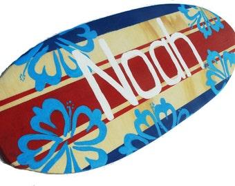 Surf Board Wall Art, Luau Party Decorations, Surfboard Wall Decor
