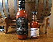 L.W. 1814 Barrel Aged Hot Sauce BIG and small!