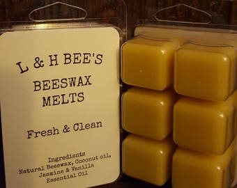 Beeswax Melts Fresh & Clean