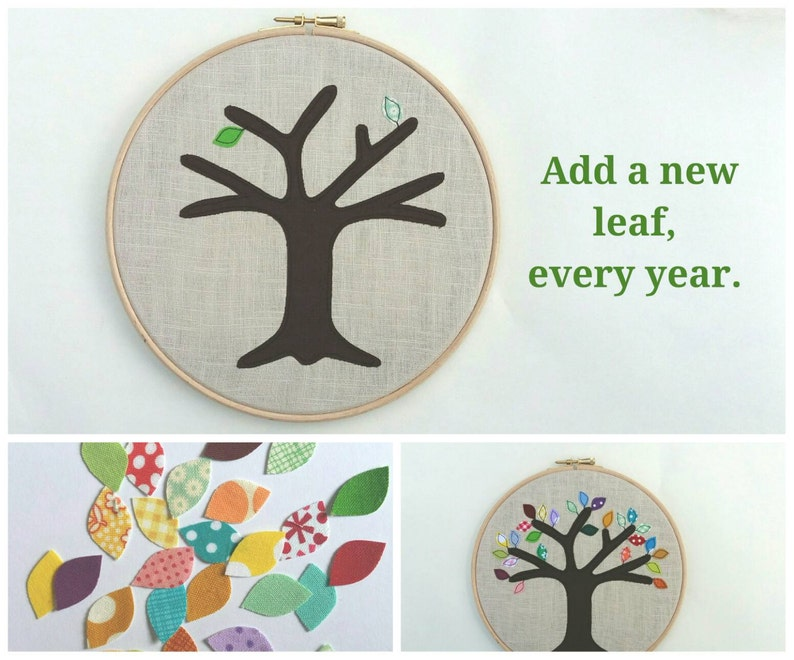Cotton Anniversary Gift Add A New Leaf Each Year Of Marriage Etsy