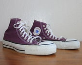 Converse Chuck Taylor All-Star Made in USA Purple Plum Hi-Top Pre-Nike Buyout