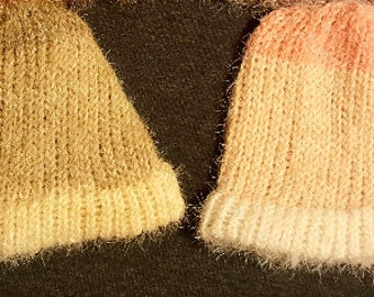 bcf19226 Fluffy Beanies from Caron Latte Cakes