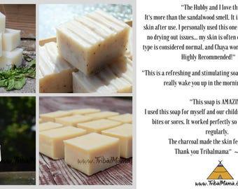 Pick 6~ Handmade Natural & Nourishing Bar Soaps