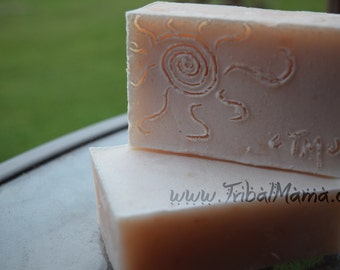 Exotic Citron Natural Glycerin Bar Soap; therapeutic grapefruit and lemongrass, it's luxurious!