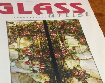 Glass Artist: The Magazine of the Glass Arts & Crafts ~ vintage October/November 1994 back issue magazine