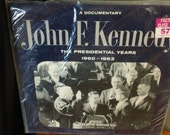 John F. Kennedy - The Presidential Years 1960-1963 (A Documentary) - TFM 3127 - 12 quot vinyl lp, mono (20th Century Fox Records,1964) Sealed