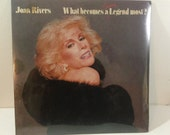Joan Rivers - What Becomes A Semi-Legend Most - GHS 4007 - 12 quot vinyl lp, album (Geffen Records,1983) 80s Comedy Still Sealed