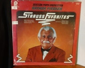 Arthur Fiedler and the Boston Pops Orchestra - Strauss Favorites - ACL 0434 - 12 quot vinyl lp, reissue (Pickwick International,197 ) Sealed