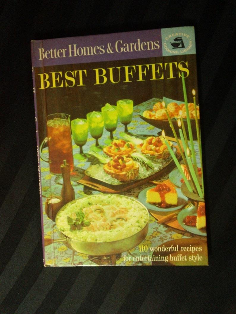 Sensational Better Homes Gardens Best Buffets Vintage 1963 Party Menu Ideas Retro Hardcover Cookbook Home Remodeling Inspirations Basidirectenergyitoicom
