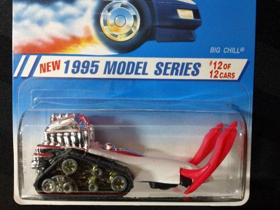 Mattel Hot Wheels collection #352 ~ 1995 modèle série #12 de 12 - Big Chill - 1: 64 à l'échelle miniature voiture - GPM