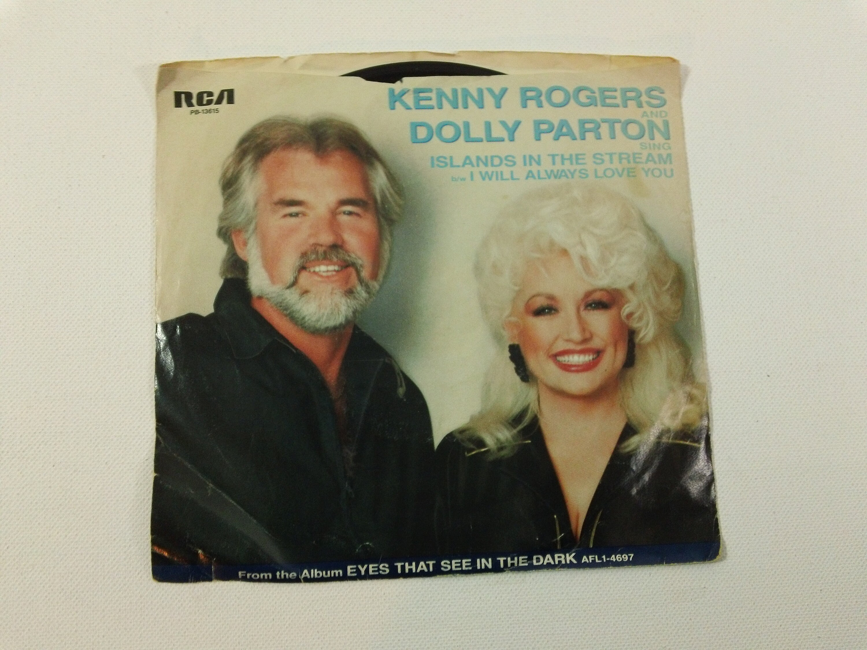 Kenny Rogers & Dolly Parton Islands In The Stream / I Will | Etsy