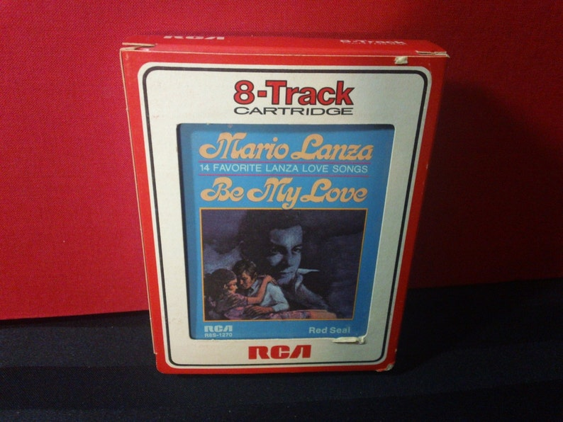 Mario Lanza Be My Love R8S 1270 8 Track Tape Cartridge