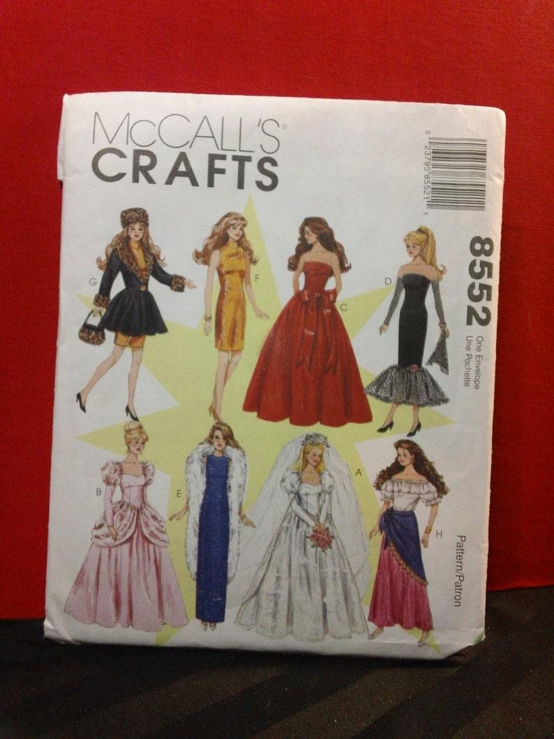 Artesanía De Mccall Patrón 8552 115 En Moda Gitana Vestido Etsy