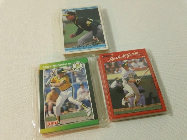 1990 Donruss or 1992 Donruss Vintage Oakland Athletics Baseball Card Team Set ~ Your choice 1989 Donruss