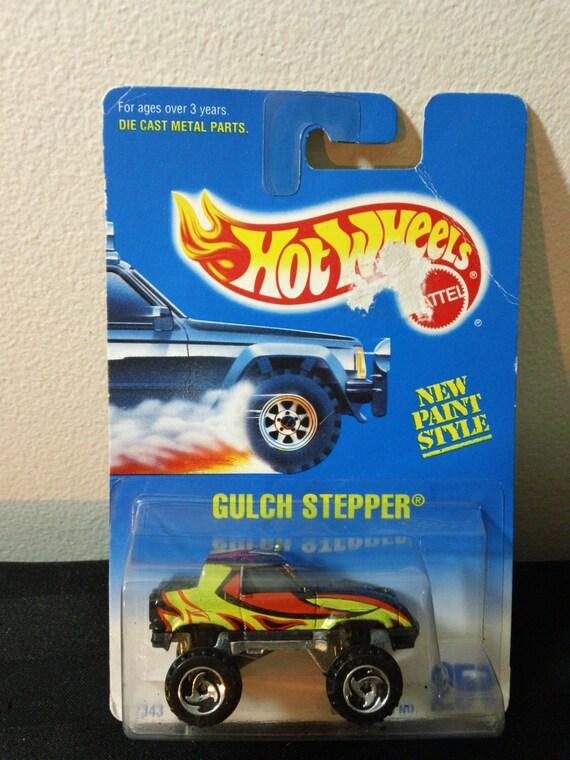 1995 Mattel Hot Wheels Collector #251 ~ le ravin Stepper - voiture jouet 1: 64 échelle miniature camion 4 x 4 GPM