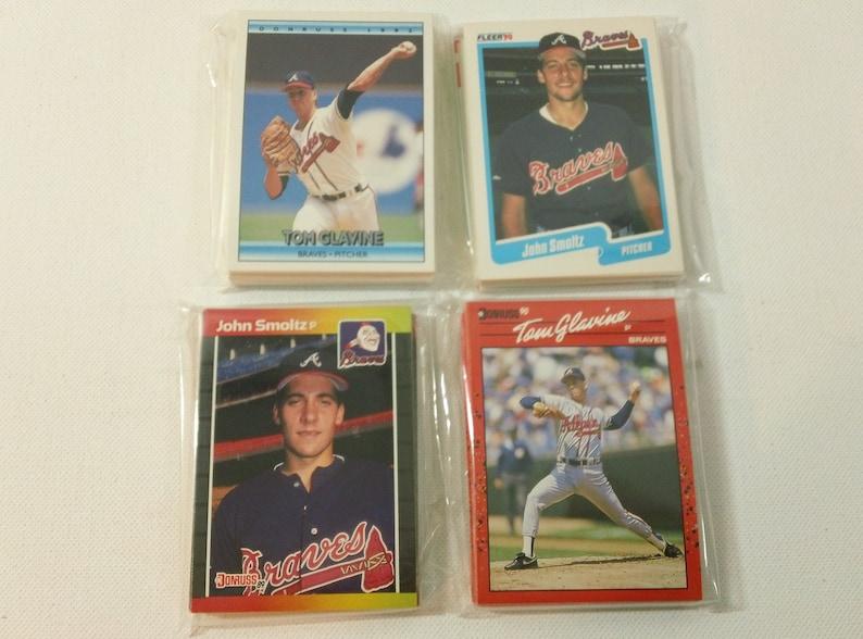 Vintage Atlanta Braves Baseball Card Team Set Your Choice 1989 Donruss 1990 Donruss 1990 Fleer Or 1992 Donruss