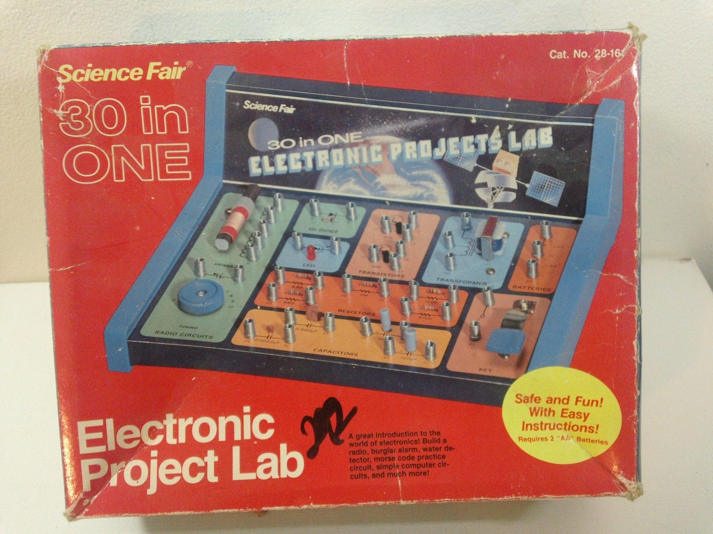 Vintage 80s Radio Shack Tandy Corp Science Fair Etsy Fun Circuit To Build 50