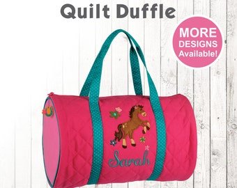 f889f74a9dae Personalized Horse Duffle Bag