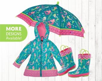 Kids rain jacket | Etsy