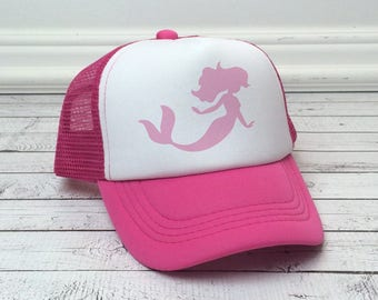 Mermaid Trucker Hat for Kids 906b40bd9d22
