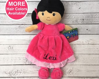 Personalized Plush Doll 2f23997ef