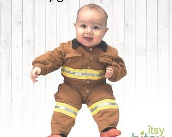 216883895 Firefighter costume | Etsy