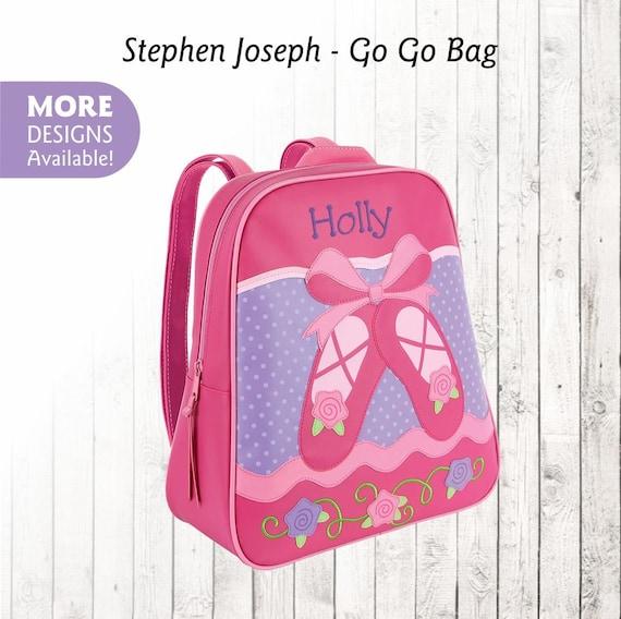 Personalized Ballet Backpack Stephen Joseph